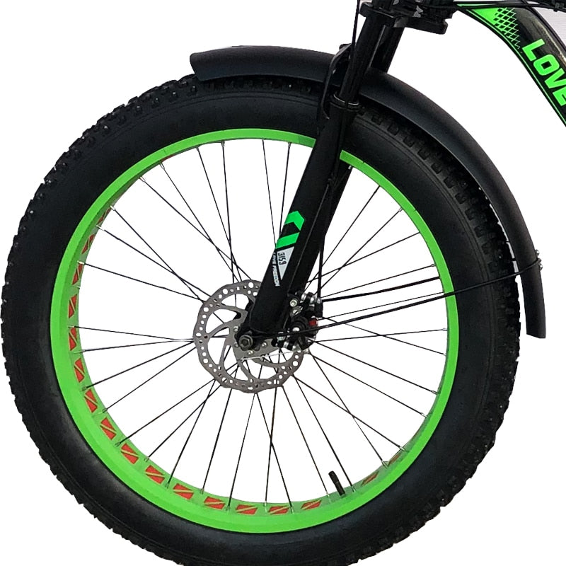 Snow Bicycle Fender 26*4.0 Inch Mudguard Full Coverage Wings Bike Part Iron Strong Durable