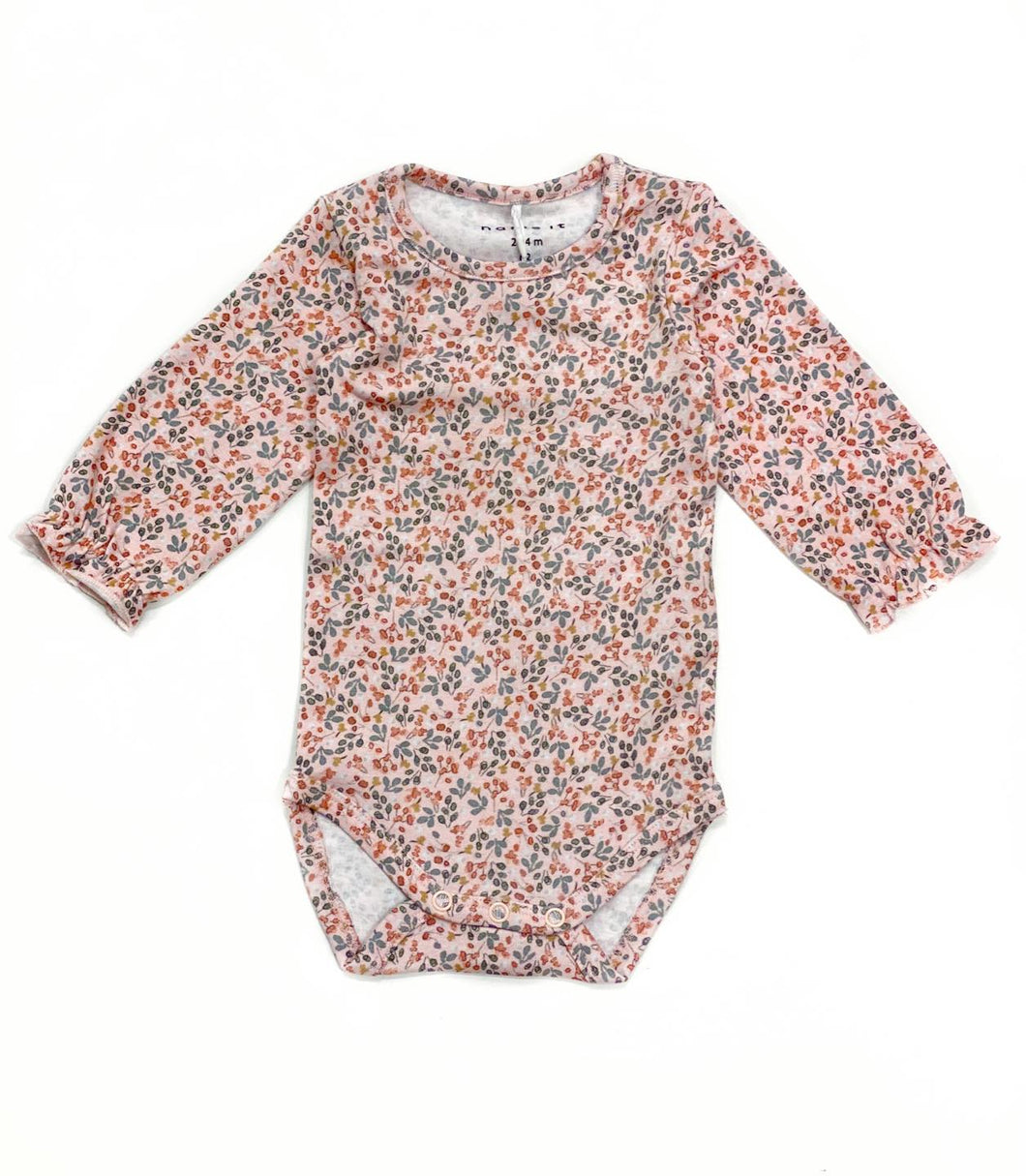 Lea body med blomsterprint rosa
