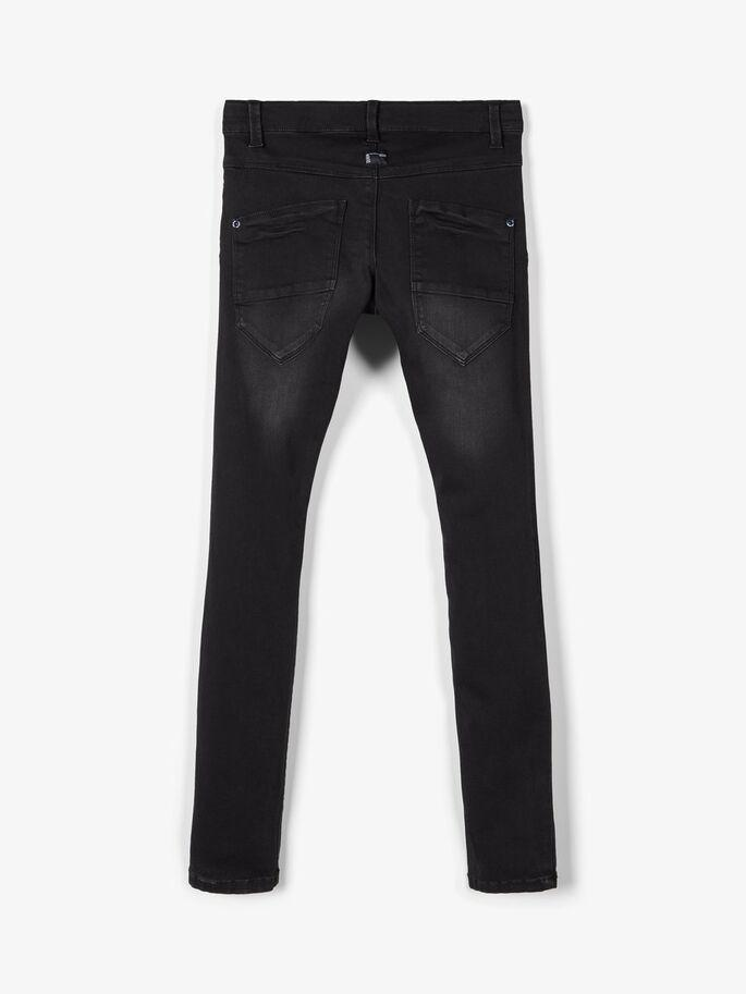 NITCLAS JEANS SORT DENIM