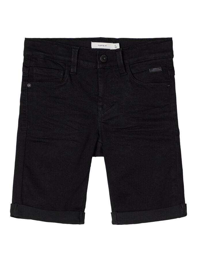 SOFUS SLIM FIT DENIM SHORTS SORT