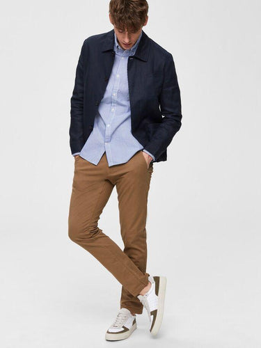 PARIS STRAIGHT CHINOS CAMEL