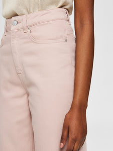 ELLIE HIGH WAIST JEANS ROSA