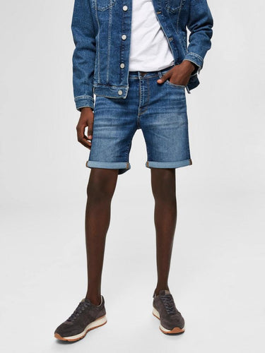 ALEX 329 JEANSSHORTS MEDIUM BLUE