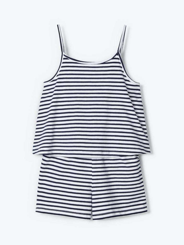 JILL PLAYSUIT HVIT