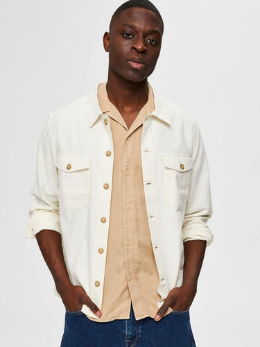 EAST LIN OVERSHIRT SAND