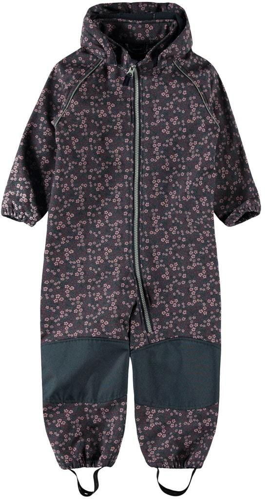 Alfa softshelldress blomster