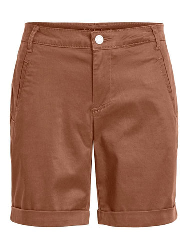 Basic shorts i brun med masse stretch.