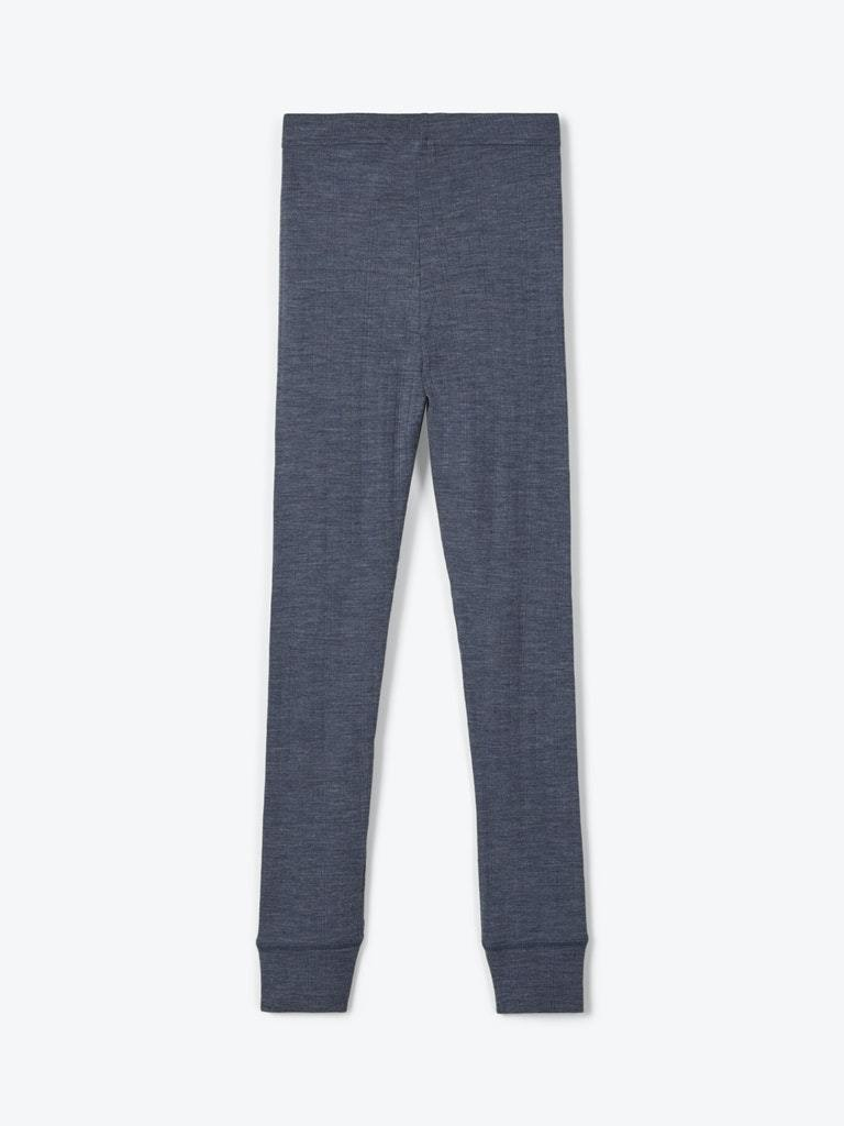 WANG MERINOULL LEGGINGS BLÅ