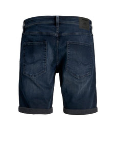 RICK DENIM SHORTS MØRK BLÅ