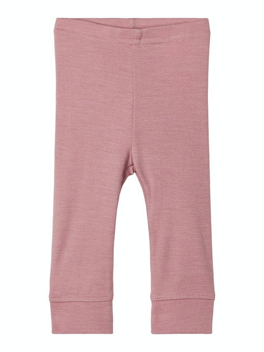 Willit merinoull leggings rosa