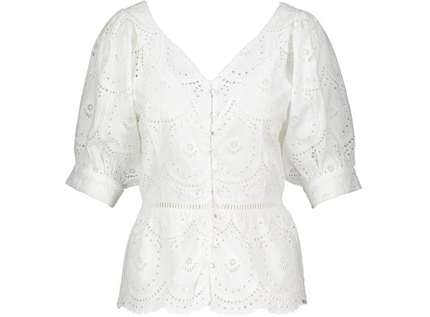 Miriam Blouse  -White