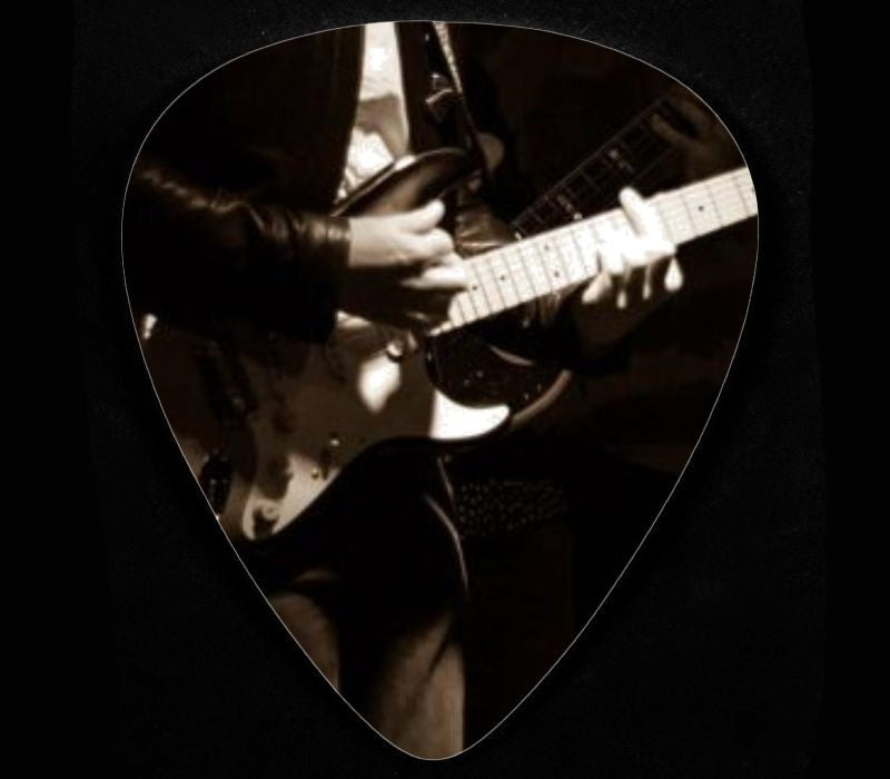 Your Two Sided Custom Guitar Pick!