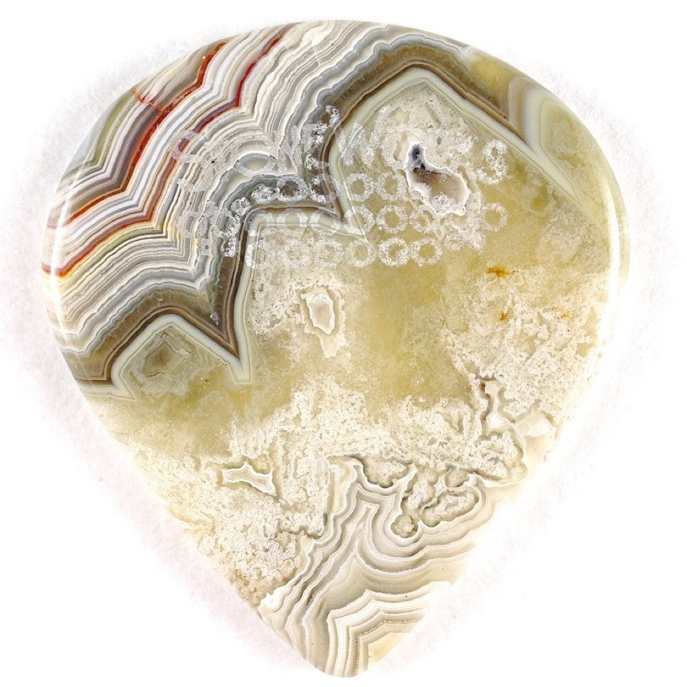 Laguna Lace - Jazz Size Stone Guitar Pick
