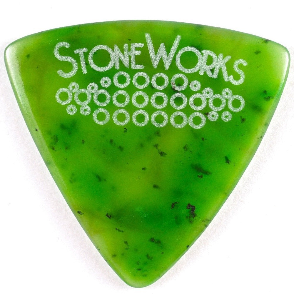 Polar Jade - Stone Guitar Pick