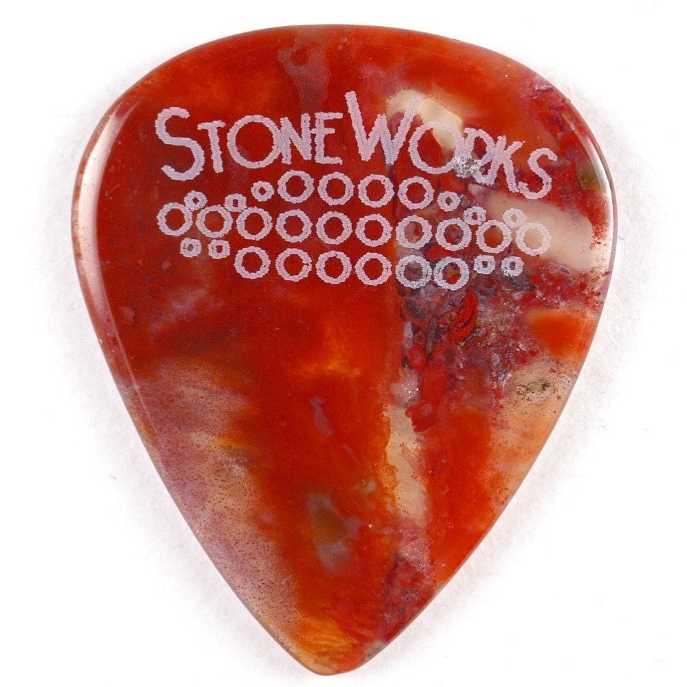 Jafar Jasper - Stone Guitar Picks