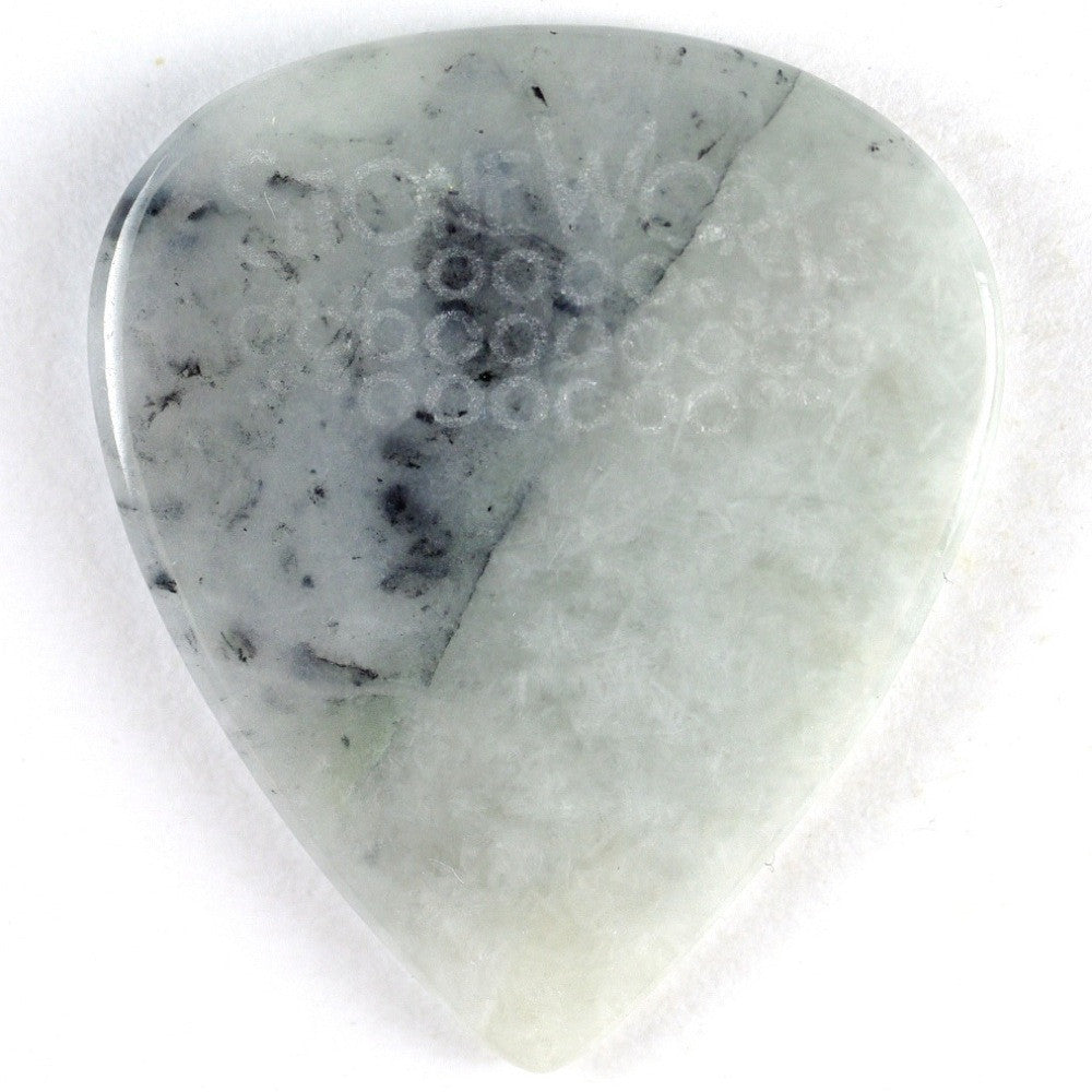California Ice Jade - Stone Guitar Pick