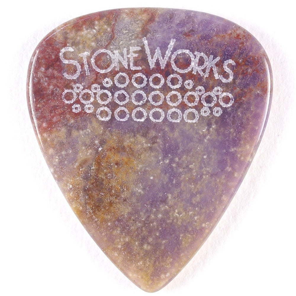 Burro Creek Agate - Stone Guitar Picks