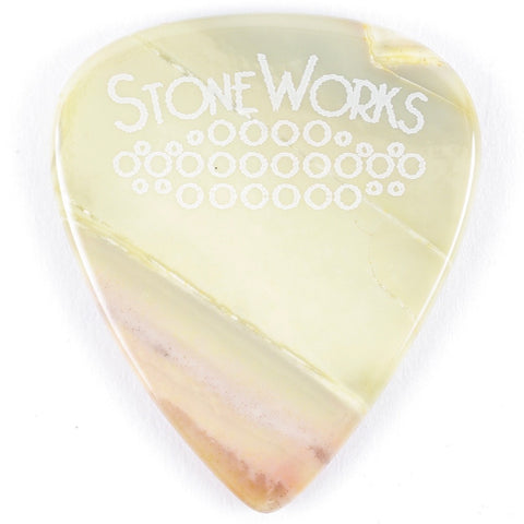 Willow Creek Jasper - Stone Guitar Pick