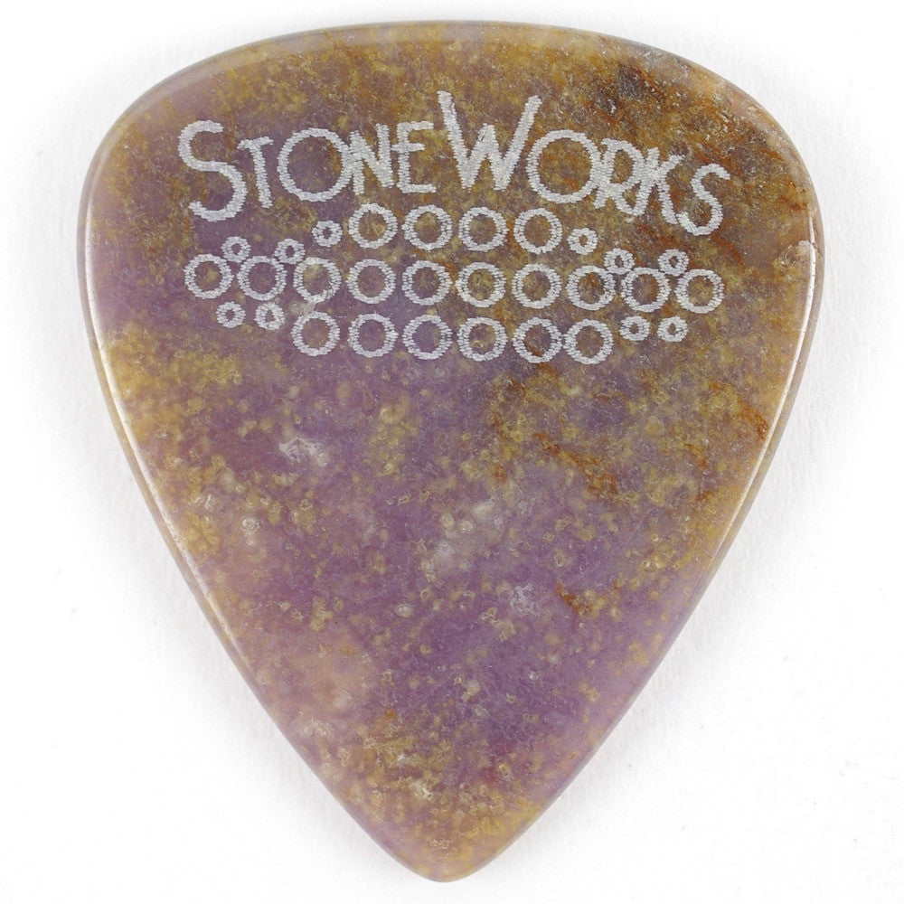 Burro Creek Agate - Stone Guitar Pick