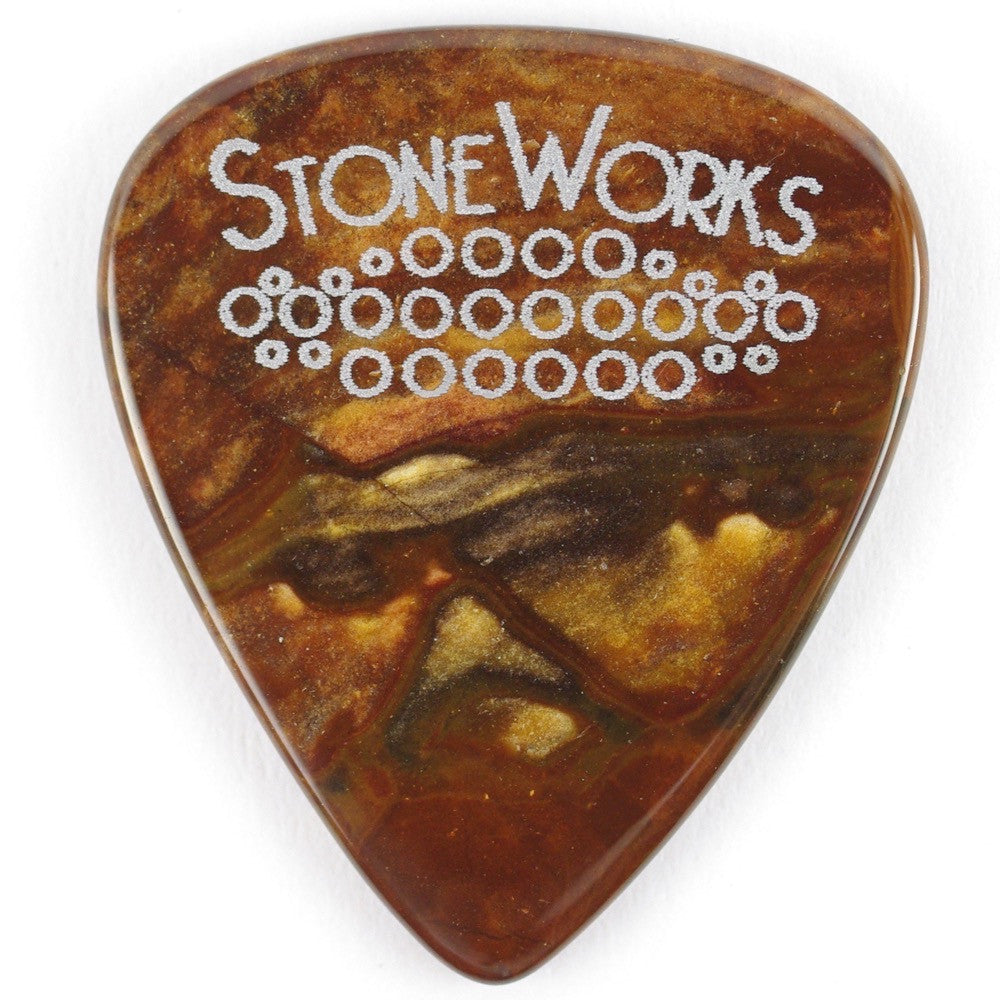 Biggs Jasper - Stone Guitar Pick