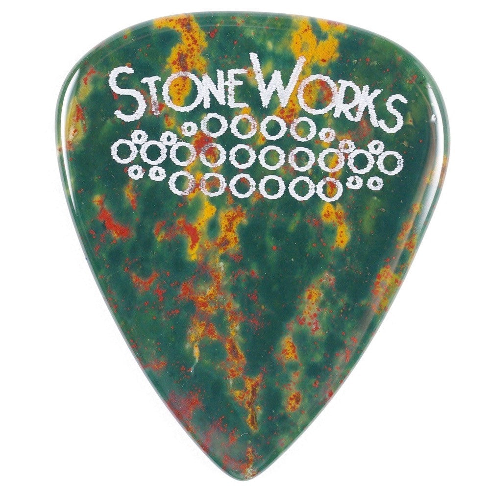 Fancy Jasper - Stone Guitar Pick