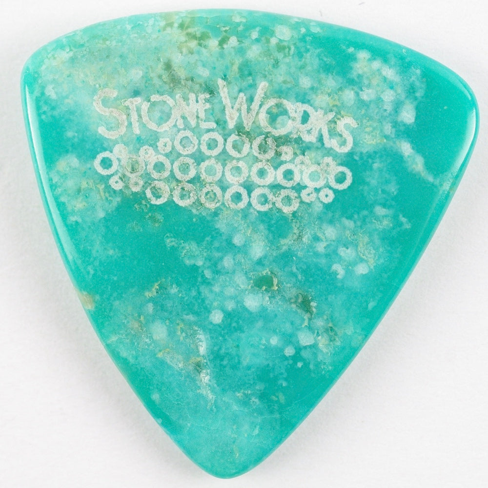 Kingman Turquoise - Large Triangle