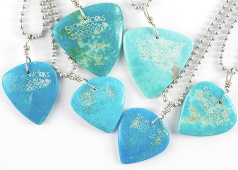 Mike's Choice Kingman Turquoise Necklace