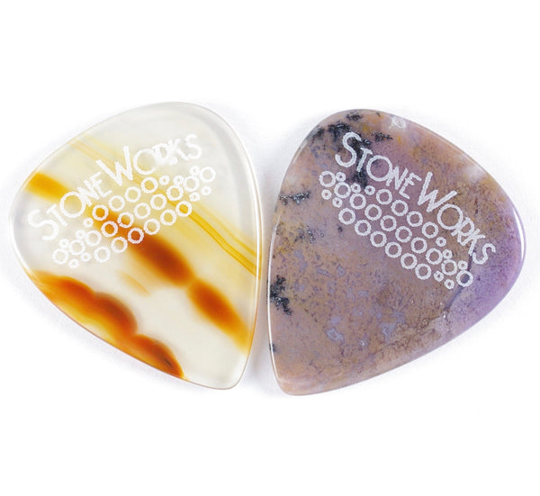 Two Designer Series Picks for $30.00 Standard Teardrop or Jazz Size