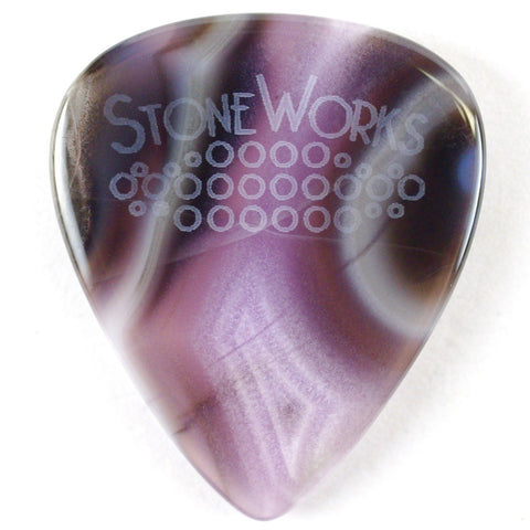 Purple Passion Agate - Heavy