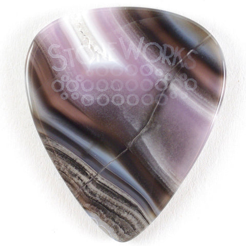 Purple Passion Agate - Thin