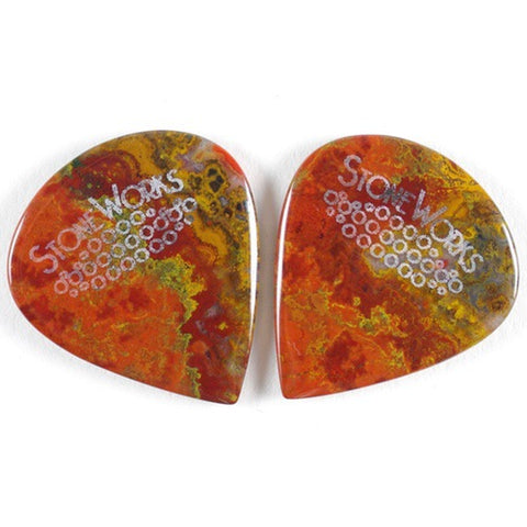 Moroccan Agate - Jazz Guitar Pick