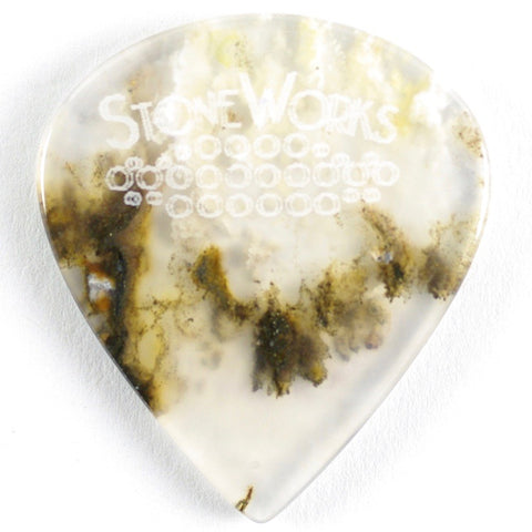 Graveyard Plume Agate - Jazz Size - Thin