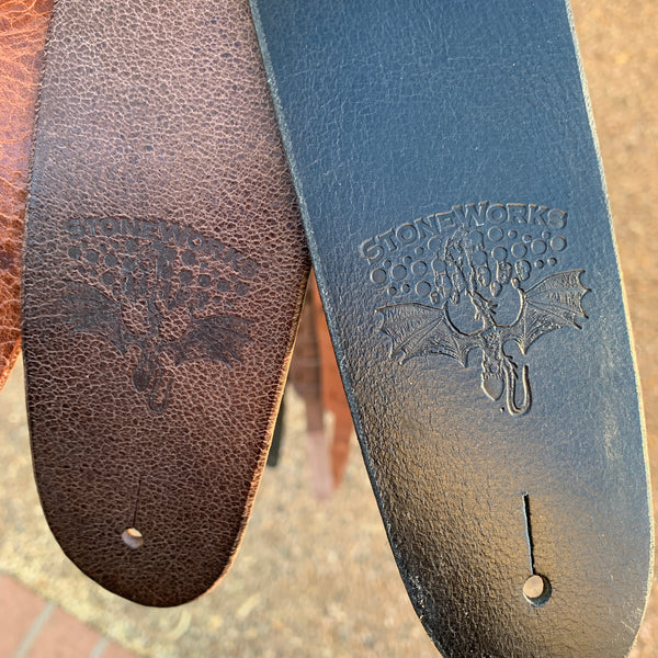 StoneWorks Leather Guitar Strap