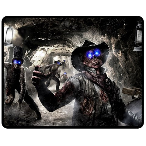 CALL OF DUTY BLACK OPS ZOMBIE #01 FLEECE BLANKET