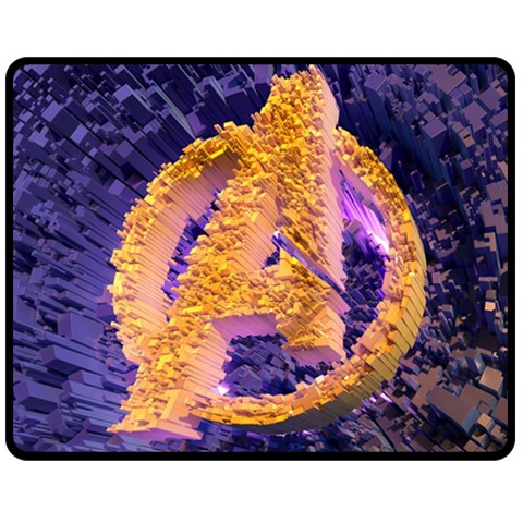 THE AVENGERS LOGO #01 FLEECE BLANKET