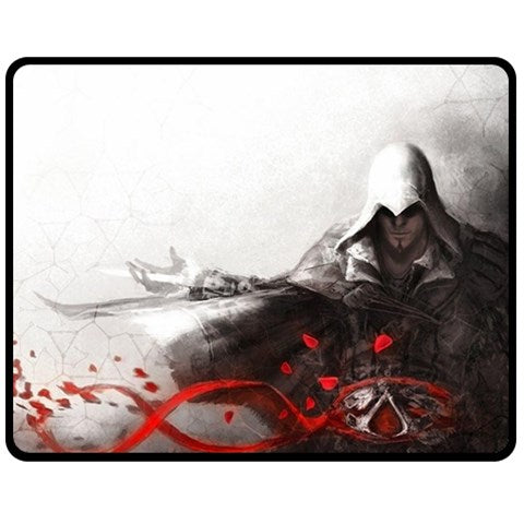 ASSASSIN CREEDS LOGO #02 FLEECE BLANKET
