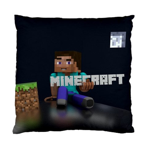 MINECRAFT LOGO CUSHION COVER