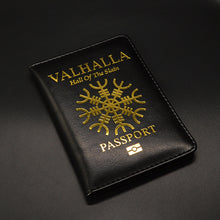Load image into Gallery viewer, Valhalla Passport Cover Mythological Story Travel Wallet Covers for Passports