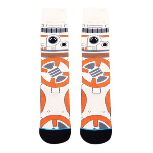 Chaussettes Star Wars <br> BB8 - Yoda Shop