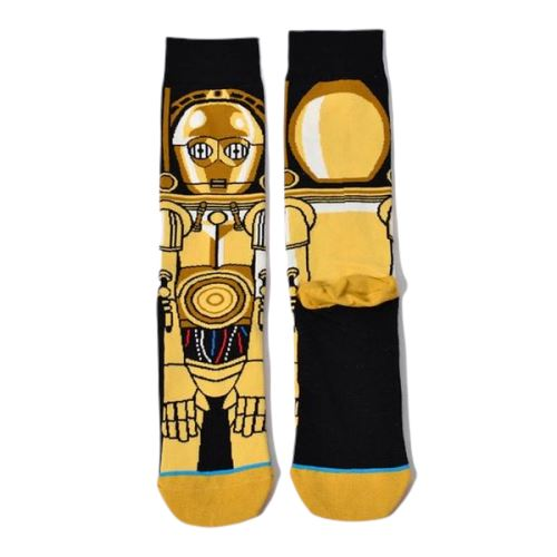 Chaussettes Star Wars<br> C3Po - Yoda Shop