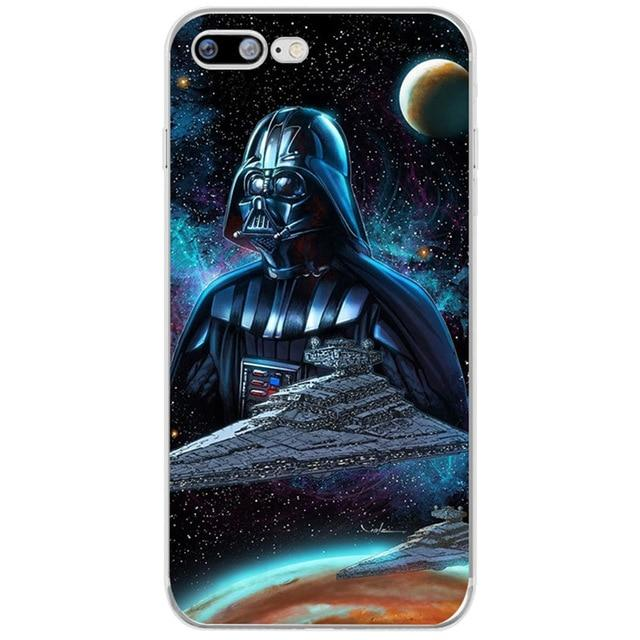 Coque Star Wars<br> Iphone Dark Galaxie - Yoda Shop