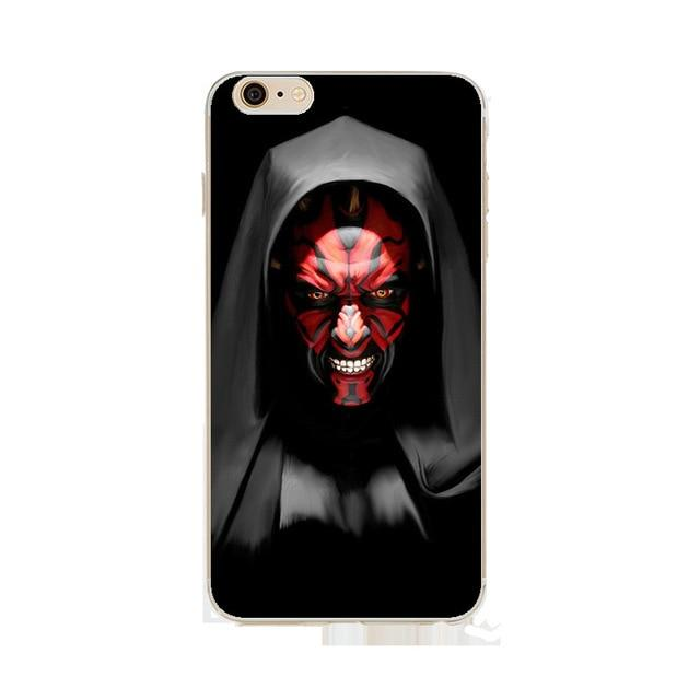 Coque Star Wars<br> Iphone Dark Maul - Yoda Shop