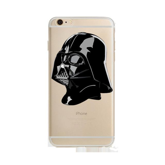 Coque Star Wars<br> Iphone Dark Vador Visage - Yoda Shop