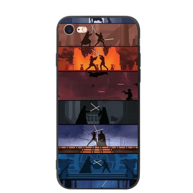 Coque Star Wars<br> Iphone Jedi Duel - Yoda Shop