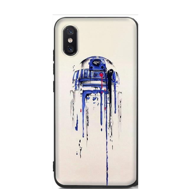 Coque Star Wars<br> Iphone R2D2 - Yoda Shop