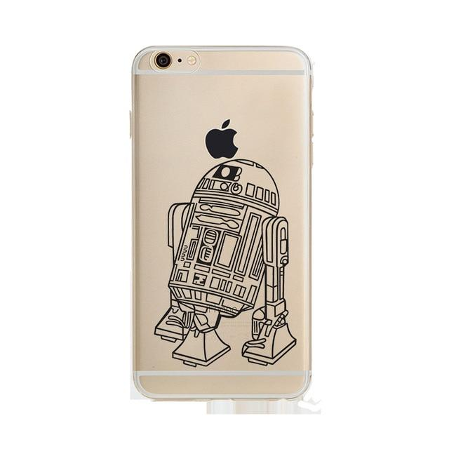 Coque Star Wars<br> Iphone R2D2 Dessin - Yoda Shop