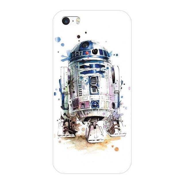Coque Star Wars<br> Iphone R2D2 Paint - Yoda Shop