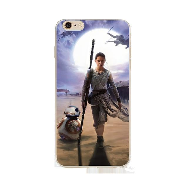 Coque Star Wars<br> Iphone Rey Et Bb8 - Yoda Shop