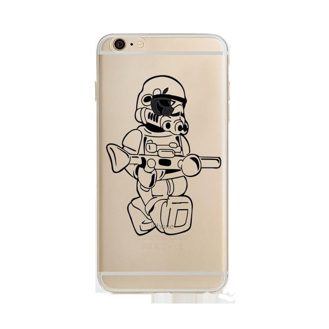 Coque Star Wars<br> Iphone Stormtrooper Dessin - Yoda Shop