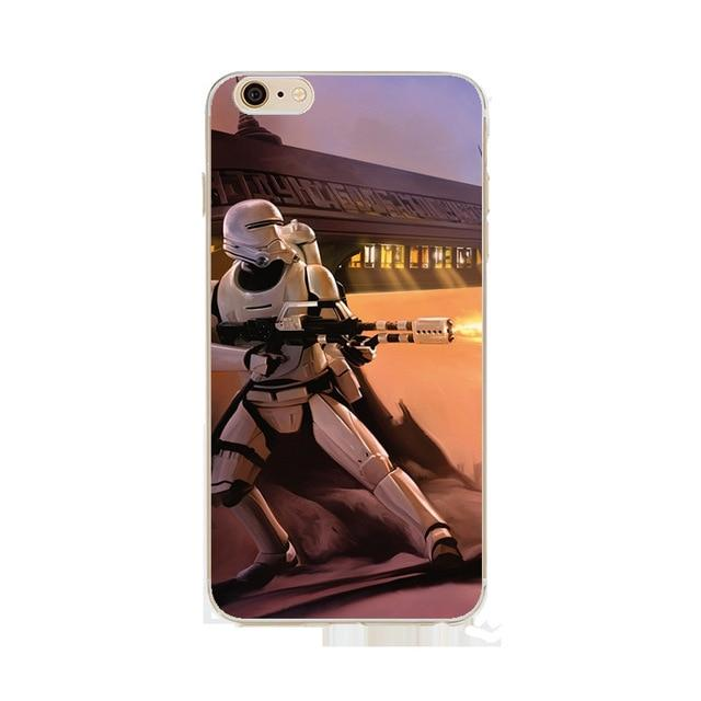 Coque Star Wars<br> Iphone Stormtrooper Gun - Yoda Shop